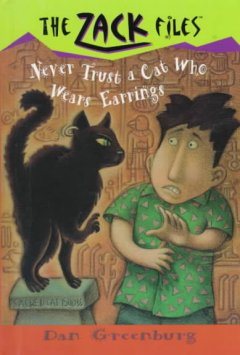 Never trust a cat who wears earrings cover image
