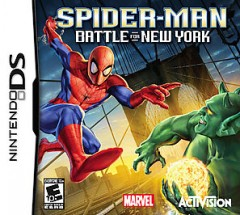 Spider-man [DS]  battle for New York cover image