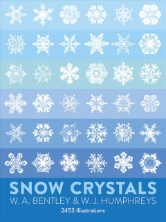 Snow crystals cover image