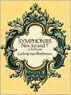 Symphonies nos. 5, 6 and 7 in full score cover image