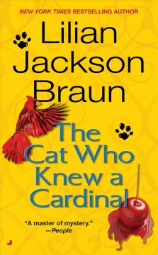 The cat who knew a cardinal cover image