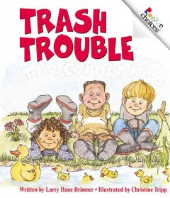Trash trouble cover image