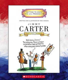Jimmy Carter : thirty-ninth president 1977-1981 cover image