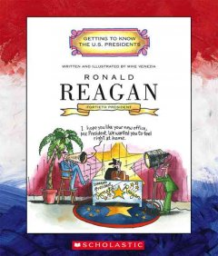 Ronald Reagan ; fortieth president 1981-1989 cover image