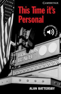 This time it's personal cover image