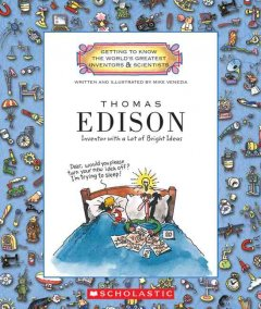 Thomas Edison : inventor with a lot of bright ideas cover image