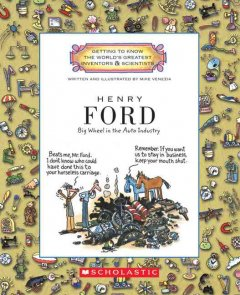 Henry Ford : big wheel in the auto industry cover image