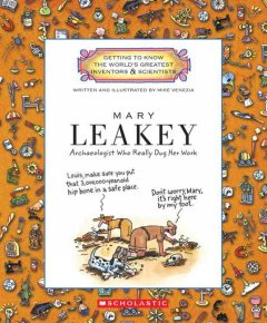 Mary Leakey : archaeologist who really dug her work cover image