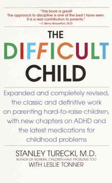 The difficult child cover image