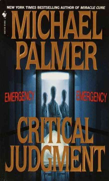 Critical judgment cover image