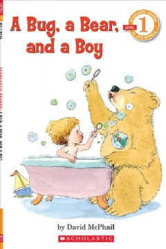 A bug, a bear, and a boy cover image