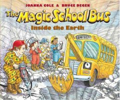 The magic school bus : inside the Earth cover image