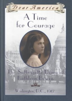 A time for courage : the diary of Kathleen Bowen cover image