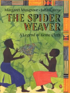 The spider weaver : a legend of kente cover image