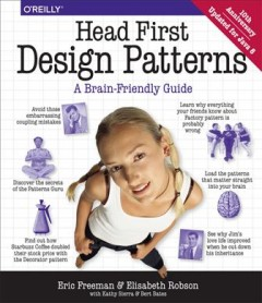 Head First design patterns cover image
