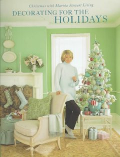Decorating for the holidays cover image