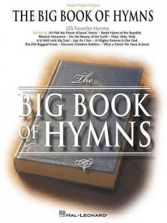 The big book of hymns cover image