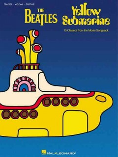 Yellow submarine piano, vocal, guitar cover image