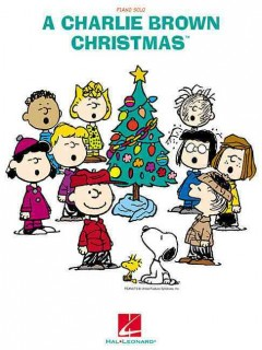 A Charlie Brown Christmas piano solo cover image