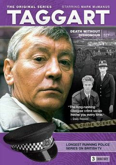 Taggart. Season 9, Death without dishonour set cover image