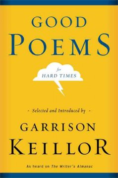 Good poems for hard times cover image