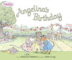 Angelina Ballerina's birthday cover image