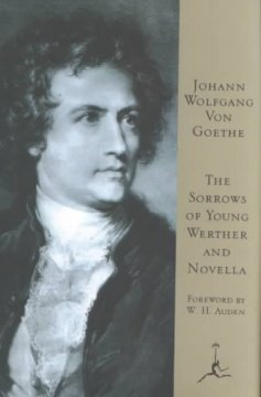 The sorrows of young Werther and Novella cover image
