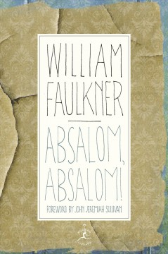 Absalom, Absalom! : the corrected text cover image