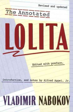 The annotated Lolita cover image