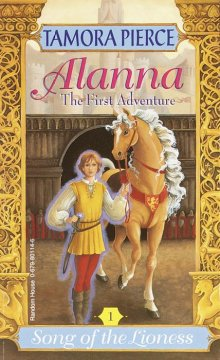 Alanna : the first adventure cover image