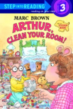 Arthur, clean your room! : a sticker book cover image