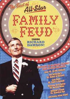 The best of All-star family feud cover image