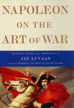 Napoleon on the art of war cover image
