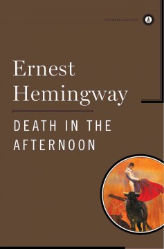 Death in the afternoon cover image