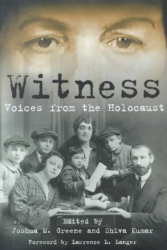 Witness : voices from the Holocaust cover image