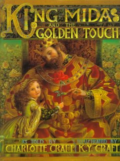 King Midas and the golden touch cover image