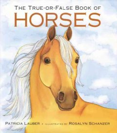 The true-or-false book of horses cover image