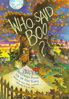 Who said boo? : Halloween poems for the very young cover image