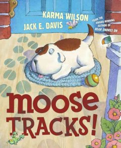 Moose tracks! cover image