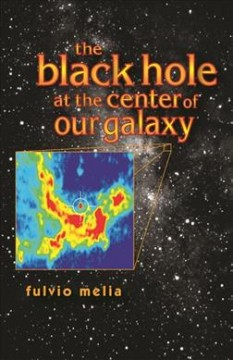 The black hole at the center of our galaxy cover image