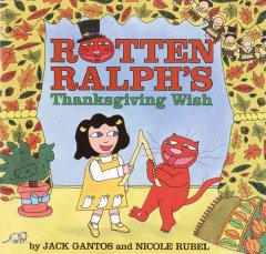 Rotten Ralph's Thanksgiving wish cover image