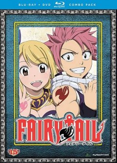 Fairy Tail. Collection 15 [Blu-ray + DVD combo] cover image