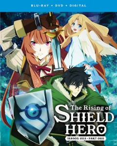 The rising of the Shield Hero. Season 1, part 1 [Blu-ray + DVD combo] cover image