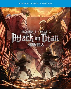 Attack on Titan. Season 3, Part 2 [Blu-ray + DVD combo] cover image