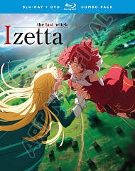Izetta: the last witch. The complete series, episodes 1-12 [Blu-ray + DVD combo} cover image
