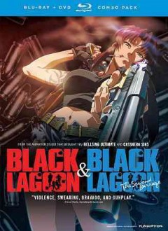 Black Lagoon. Season 1 & 2 [Blu-ray + DVD combo] & Black Lagoon, the second barrage cover image