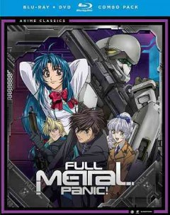 Full metal panic! The complete series [Blu-ray + DVD combo] cover image