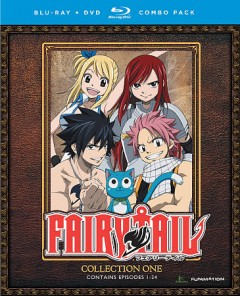 Fairy tail. Collection 1 [Blu-ray + DVD combo] cover image