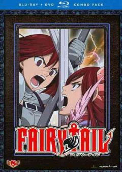 Fairytail. Collection 8 [Blu-ray + DVD combo] cover image