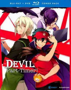The Devil is a part-timer!. The complete series [Blu-ray + DVD combo] cover image
